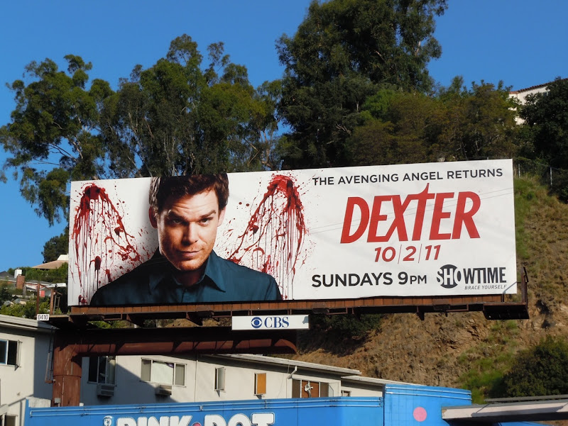 Dexter season 6 TV billboard