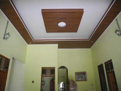 Hasil Pemasangan Shunda Plafon di Rumah Bapak Wayan