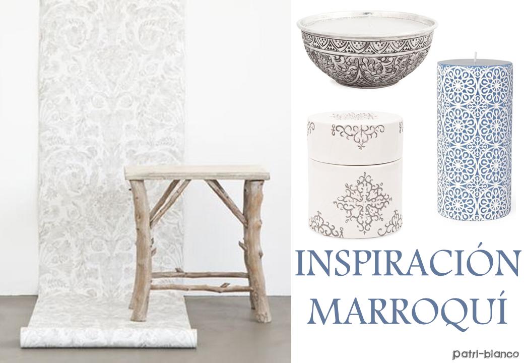 De inspiración Marroquí
