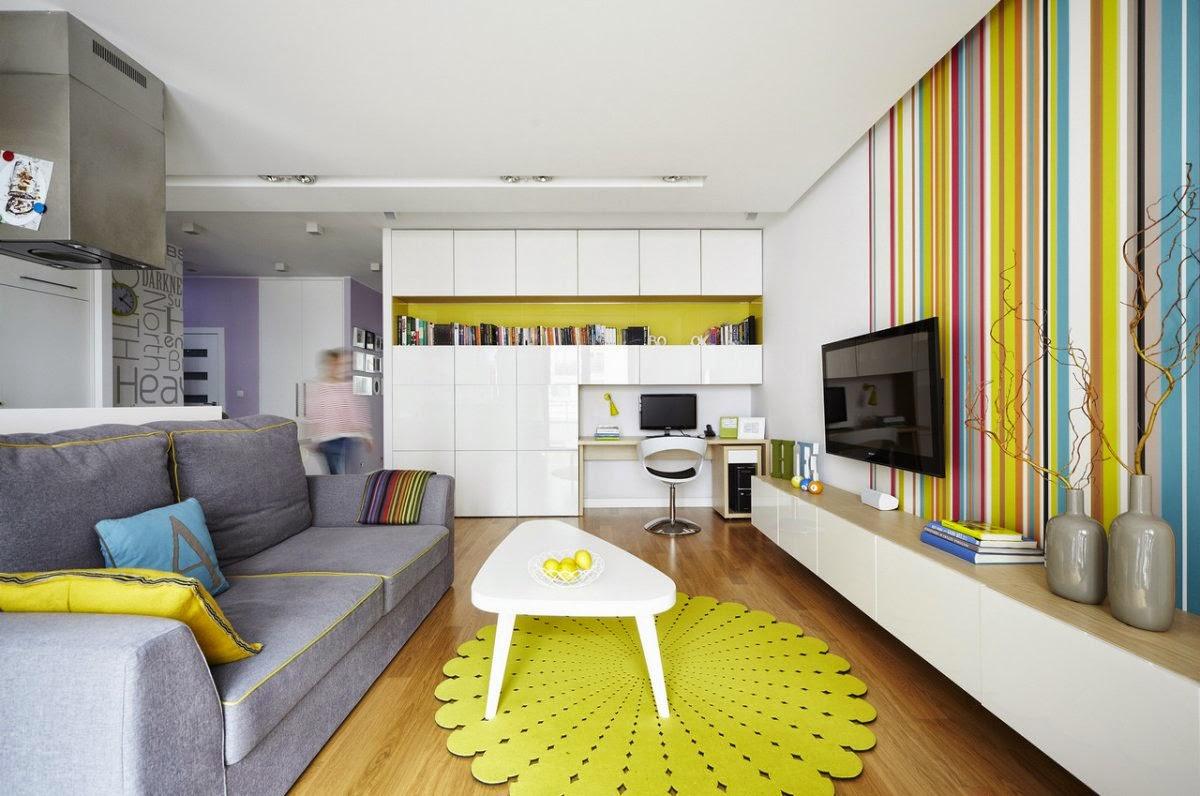 Fabuolus Modern Minimalist Apartment Studio Interior