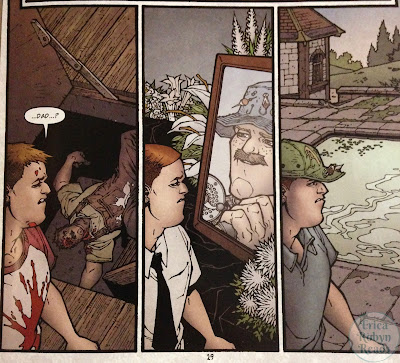 Locke & Key, Vol. 1: Welcome to Lovecraft tyler panel