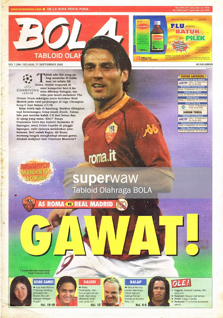 TABLOID BOLA: GAWAT!