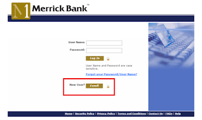Activate your Merrick Credit Card