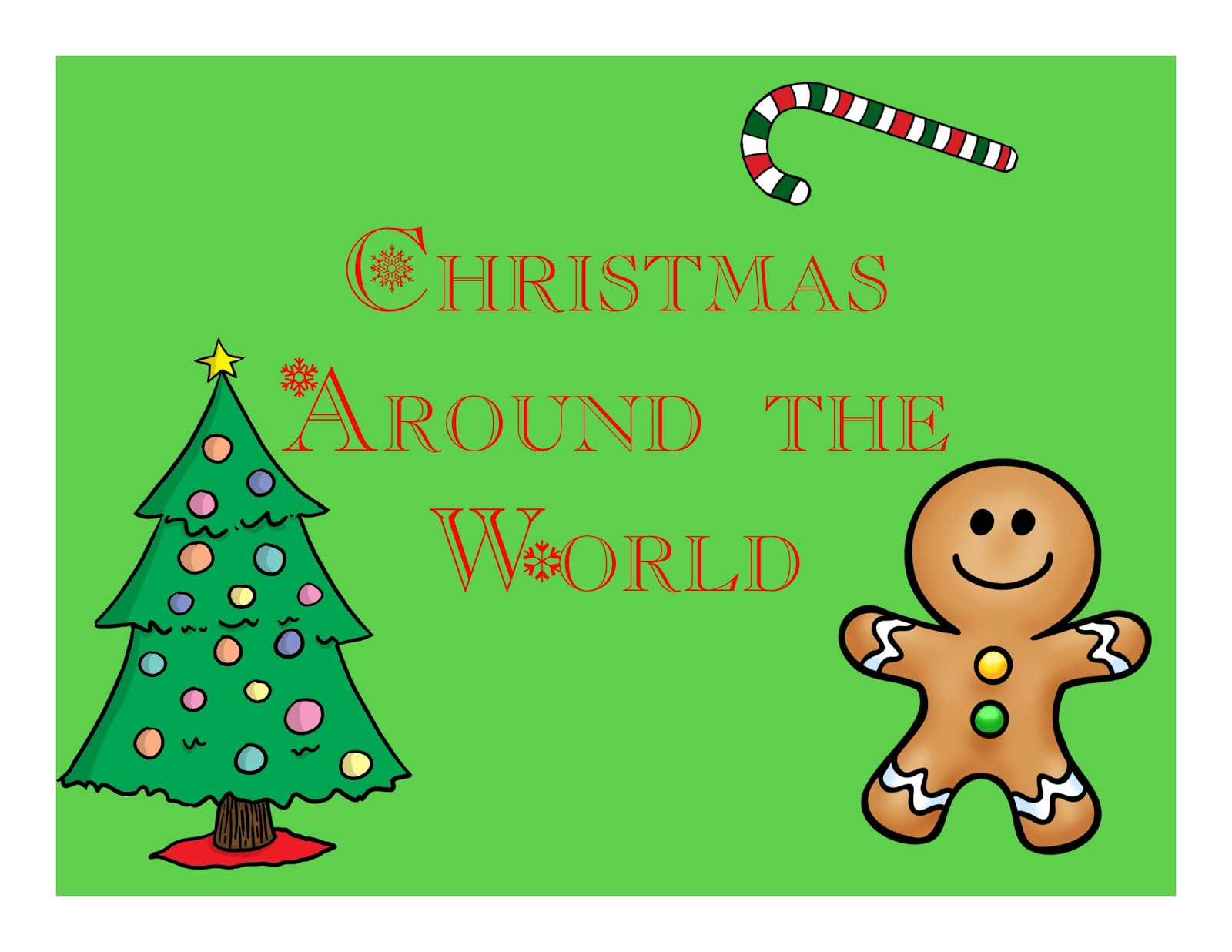 Savvy In Second Christmas Around The World Second Grade