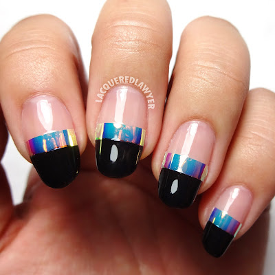 Iridescent Icon Nails