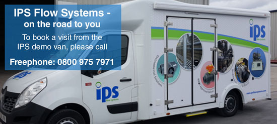 IPS Flow Systems - Demo van... on the road to you