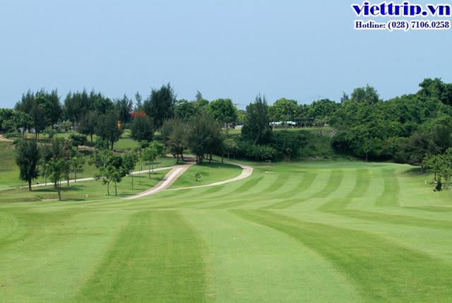 Sân Golf đẳng cấp tại Paradise vũng tàu