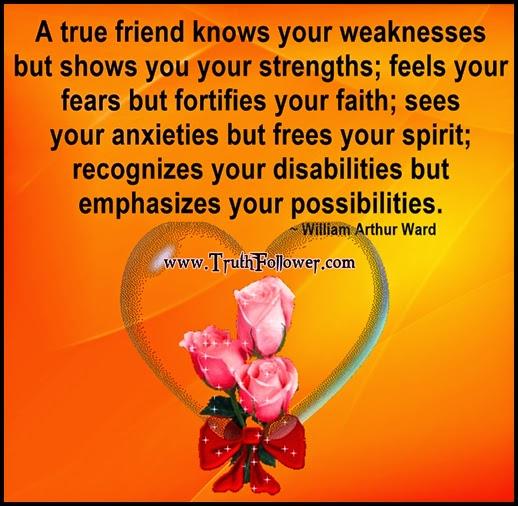 Truth Follower: True Friendship Quotes