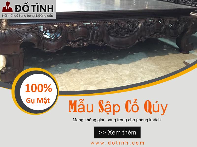 Bộ sập gỗ phản gỗ tốt nhất ghi điểm khách hàng trong T10