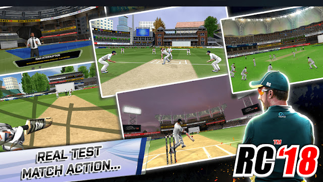 Real Cricket 19 Top 5 Features