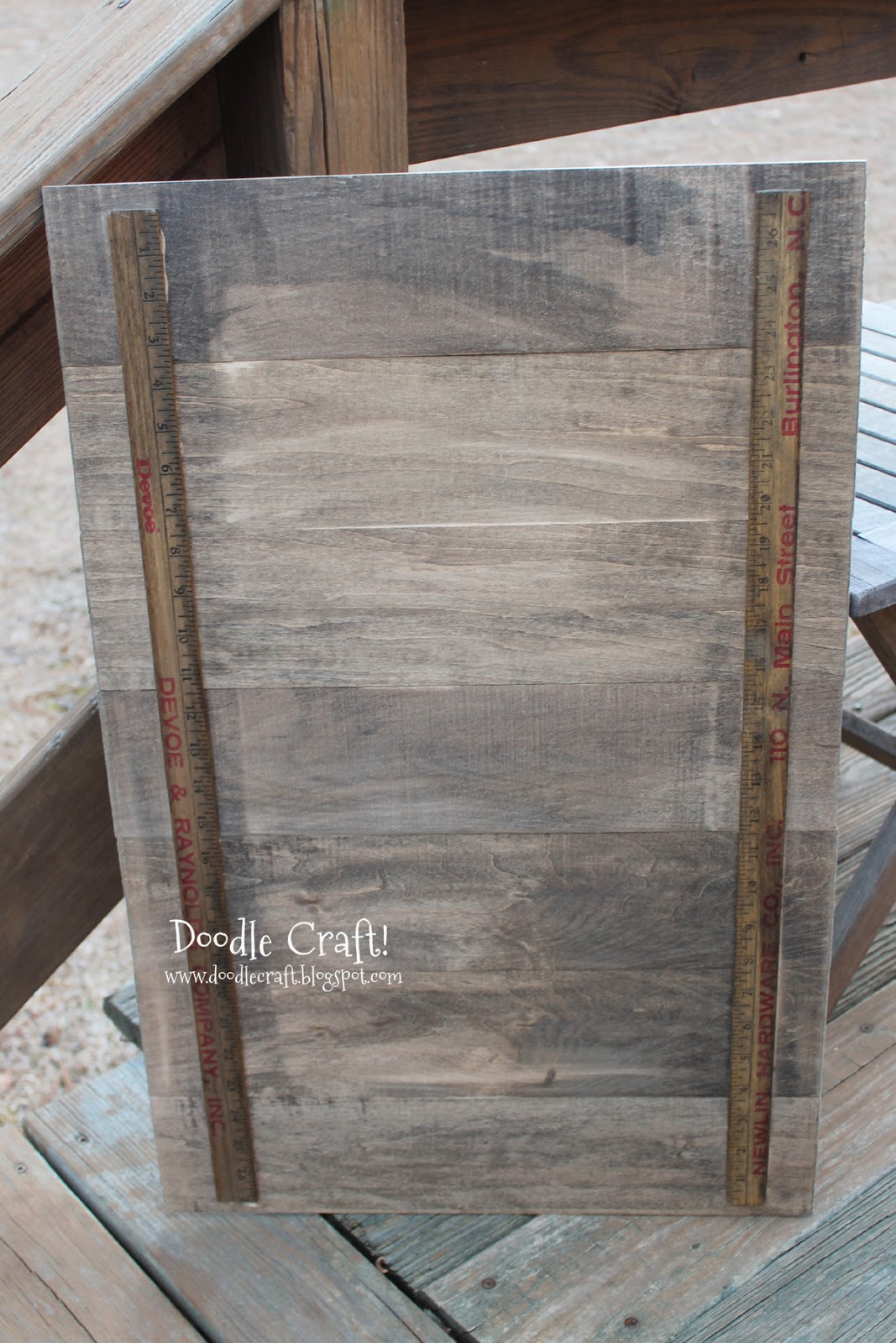 Wooden Doublesided Backdrop