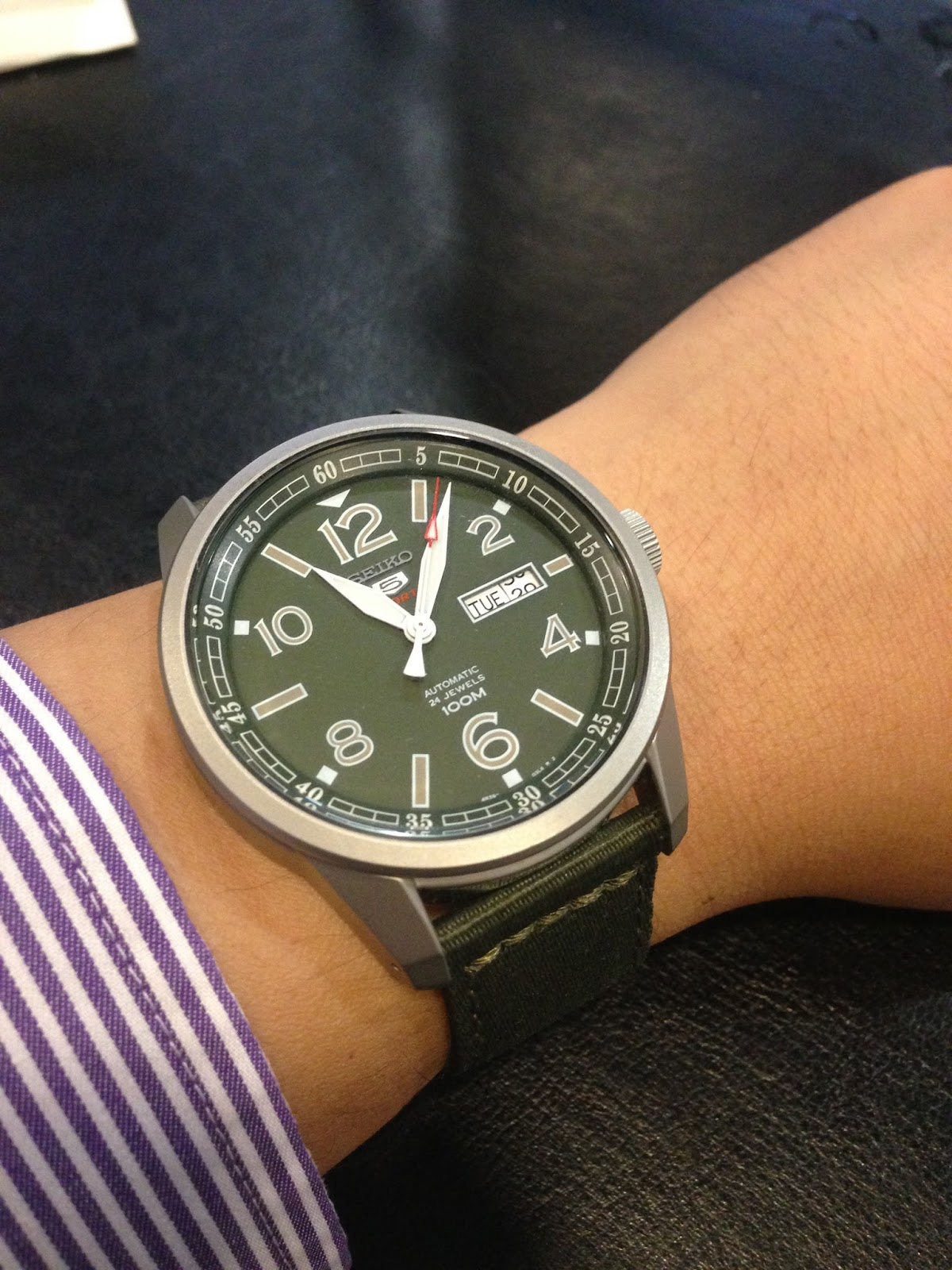 My Eastern Watch Collection: SEIKO 5 Military Sports ...