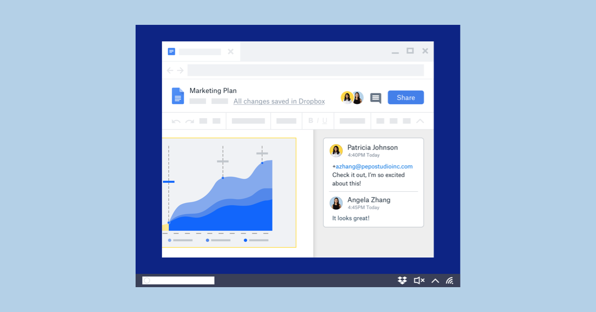 Dropbox and Google Drive
