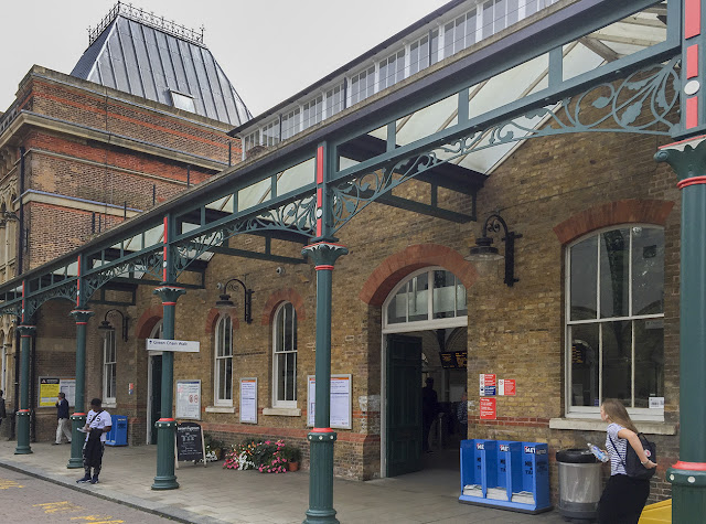 Crystal Palace station.  Crystal Palace Park, 10 August 2016.