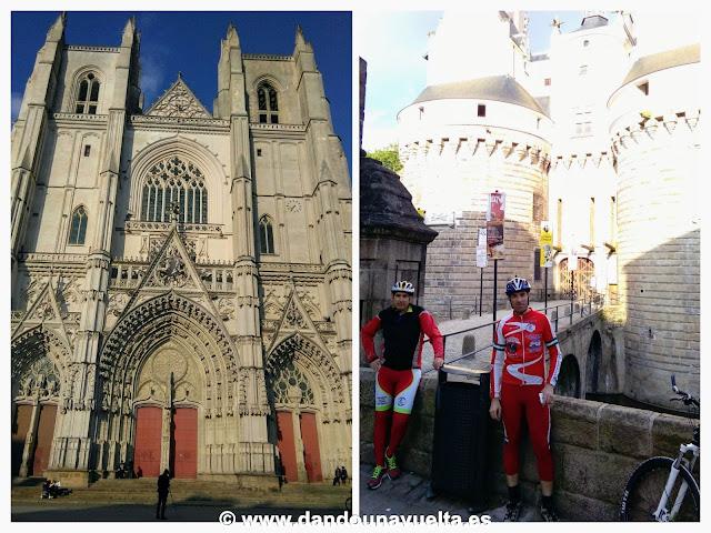 Catedral y castillo de Nantes, Francia