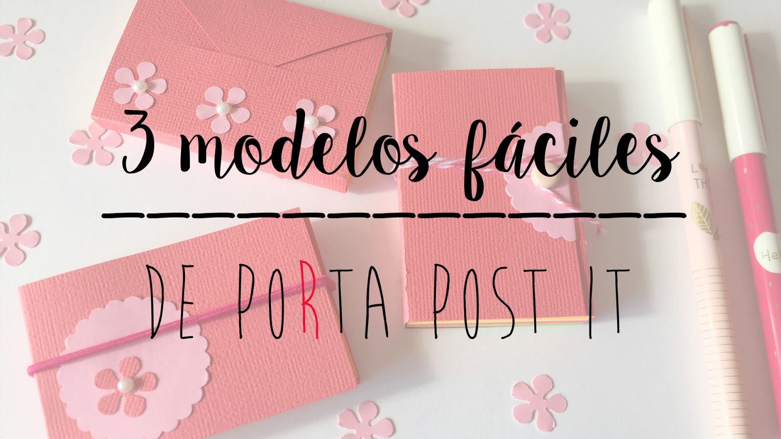CARPETITAS PORTA POST IT