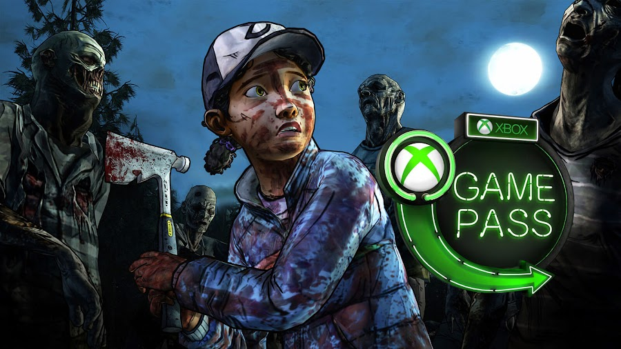 xbox game pass 2019 the walking dead season 2 xb1