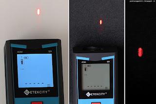 Etekcity Laser Distance Meter S9, laser