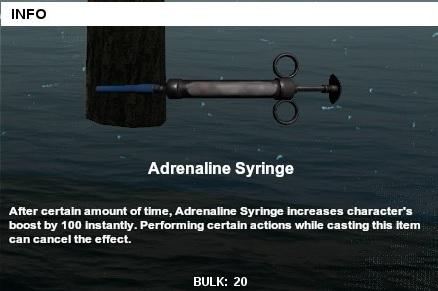 PUBG Adrenalin Syringe
