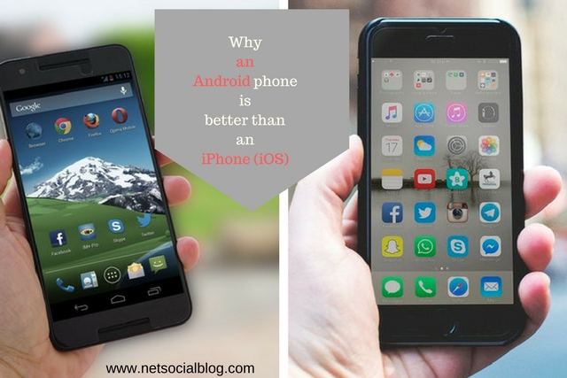 which is better android or iphone quot 3 best reasons why an android phone is better than an 2262