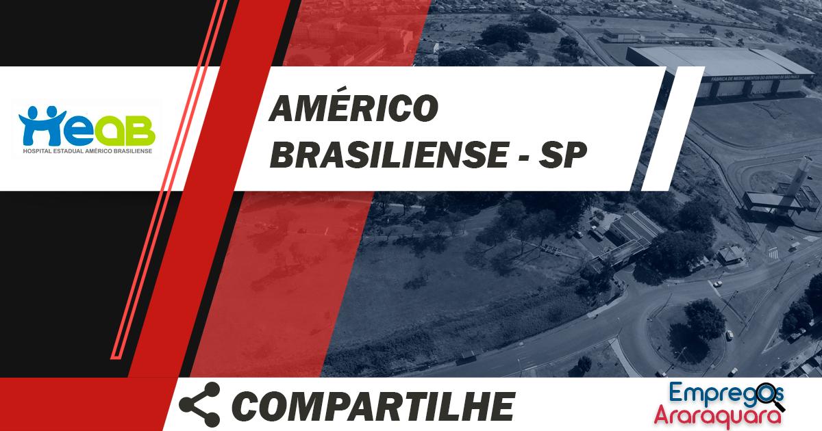 Hospital Estadual de Américo Brasiliense abriu processo seletivo para contratação de medicos