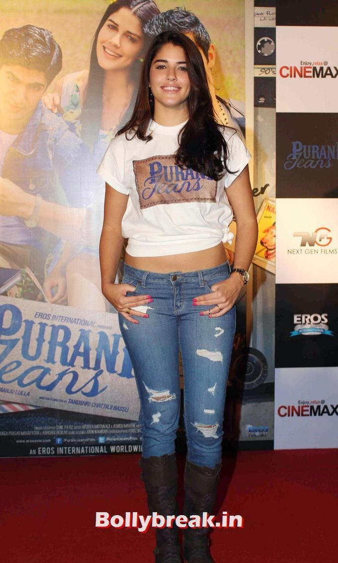 Purani Jeans Actress Izabelle Leite At Trailer Launch - 7 Pics-9104