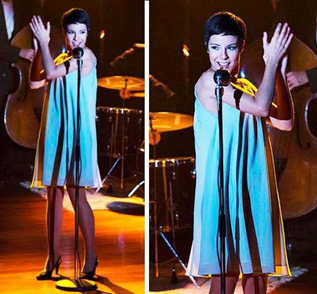 Elis vestido azul
