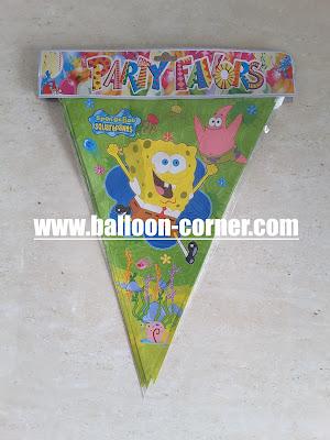 Bunting Flag Spongebob