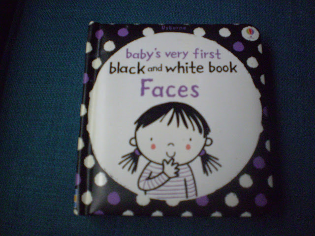 Black and White Faces Book