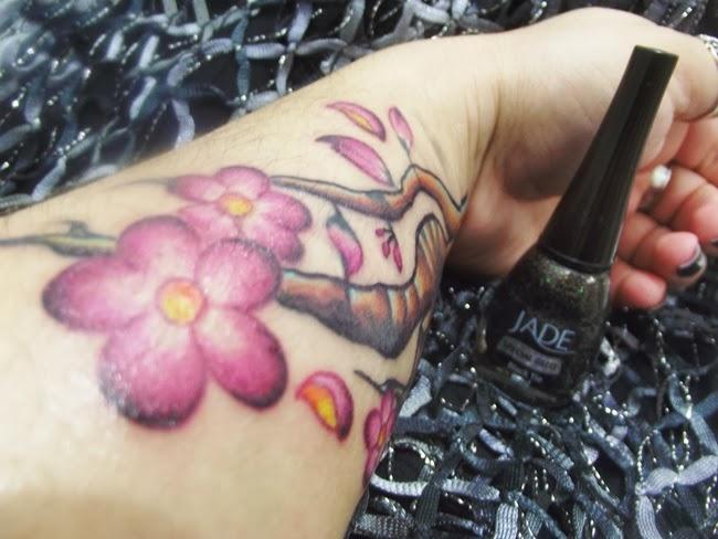 Tatuagem Flor de Laranjeira