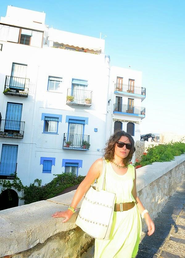 peñiscola, mi vestido azul, blogger, blog de moda, turismo,