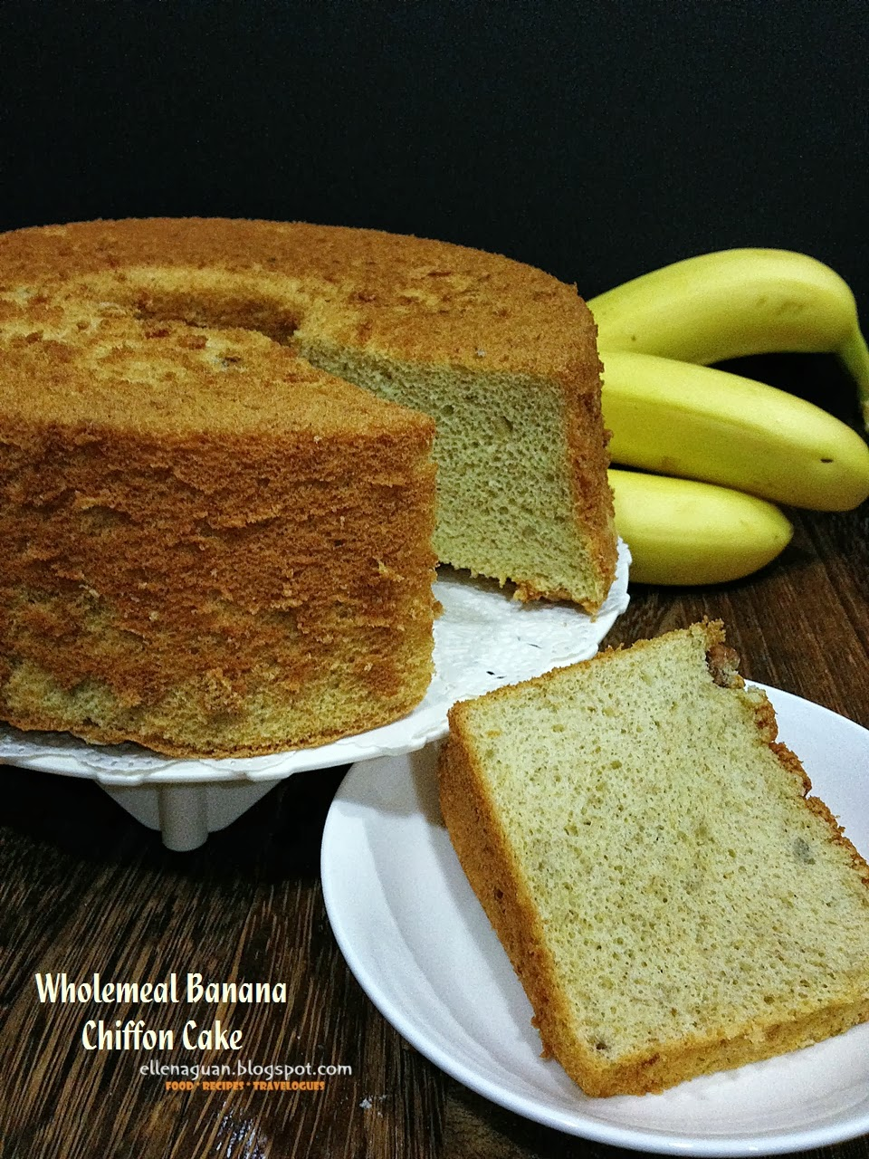 Banana Chiffon Cake Recipe Singapore