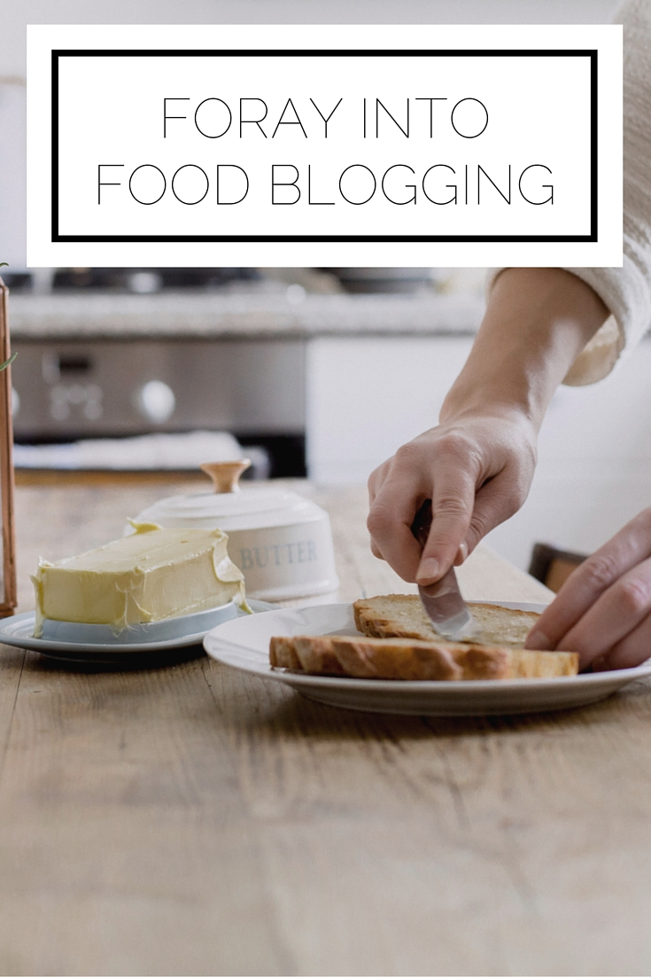 Foray Into Food Blogging