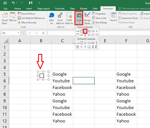 How to Add Check Boxes In MS Excel Sheet (Easy),how to add checkbox cell,how to insert checkbox in ms excel,excel 2003,excel 2007,excel 2010,excel 2016,add checkbox in excel values,checkbox color,how to make checkboxes for excel sheet,add checkbox for values,excel tips & tricks,Developer,add color checkbox,auto checkbox,check & uncheck box,click box,cell row,column,excel sheet,insert checkbox,box,Customize the Ribbon