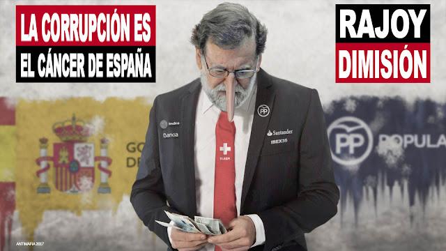 Rajoy miente mas que habla e intenta reirse de todos los españoles,  tomándonos por imbéciles.