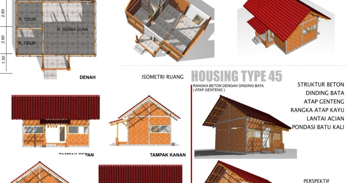 Pondasi Dengan Baja Ringan Konstruksi Rumah Sederhana | Gallery Taman Minimalis