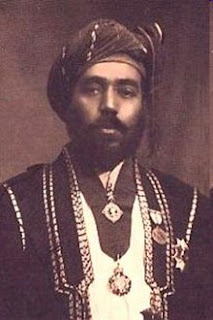 Taimur bin Faisal - Sultan of Oman 5 October 1913 – 10 February 1932 (From Wikipedia)