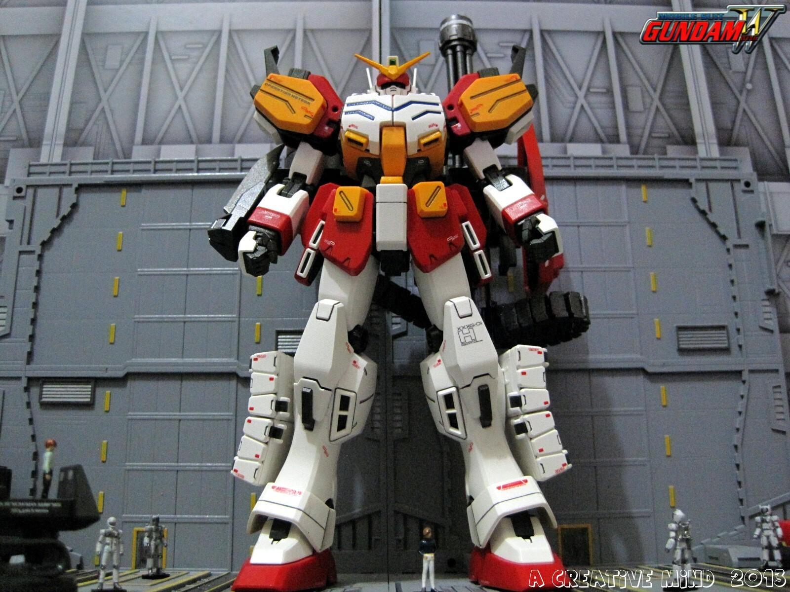 A Creative Mind Mg Xxxg 01h Gundam Heavyarms Ew