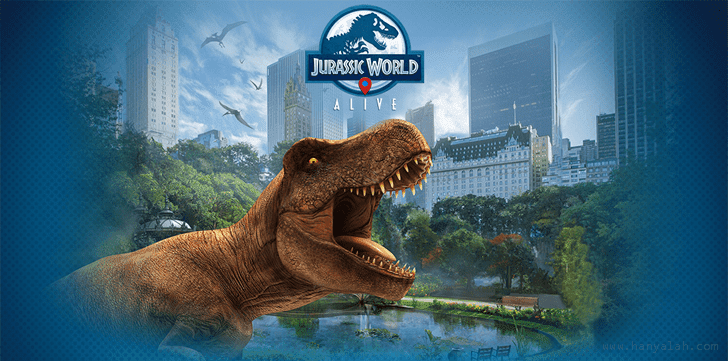 Download Game Jurassic World Alive di Android/iOS