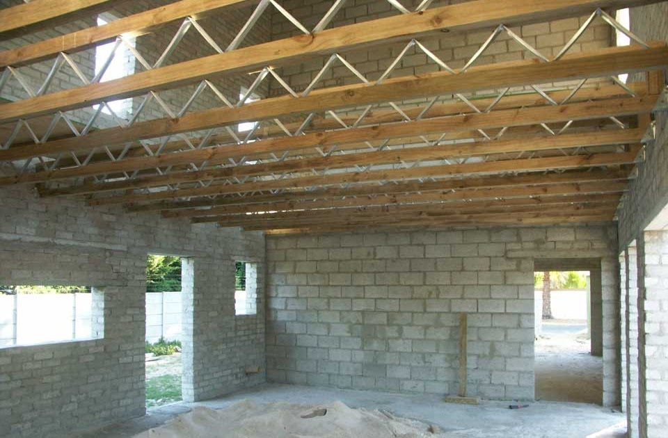 Suburban Forest First Floor Joists Are Up