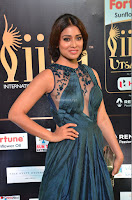 Shriya Saran in Beautiful Transparent Dark Gown IIFA Utsavam Awards 2017 040.JPG