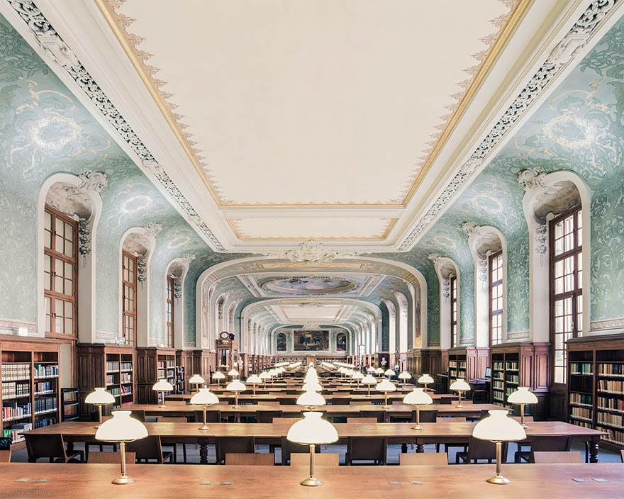 Bibliothèque Interuniversitaire de la Sorbonne, Paris - House Of Books: The Most Majestically Beautiful Libraries Around The World Photographed By Franck Bohbot