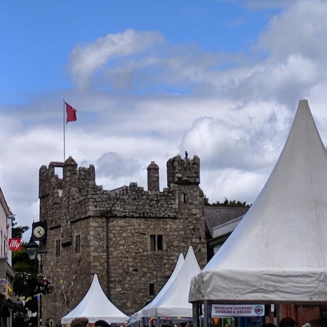 Dalkey Castle in Dublin Ireland