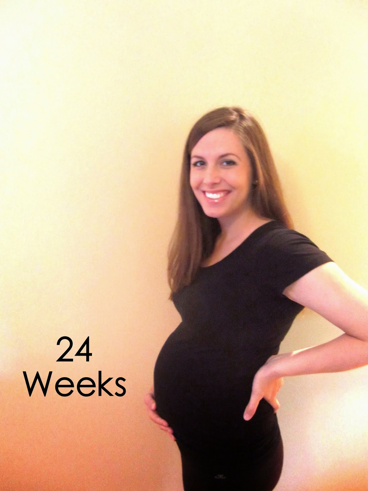 Oh So Bright: 24 Weeks Pregnant