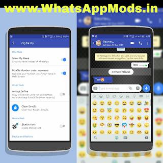 GSWhatsApp v2.0 WhatsAppMods.in