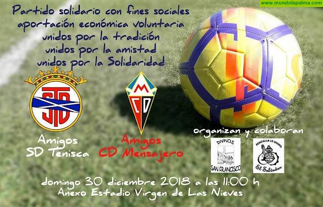 Partido Solidario  Amigos SD Tenisca Vs Amigos CD Mensajero