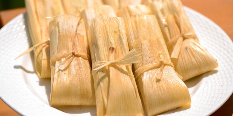 makanan khas meksiko, tamales