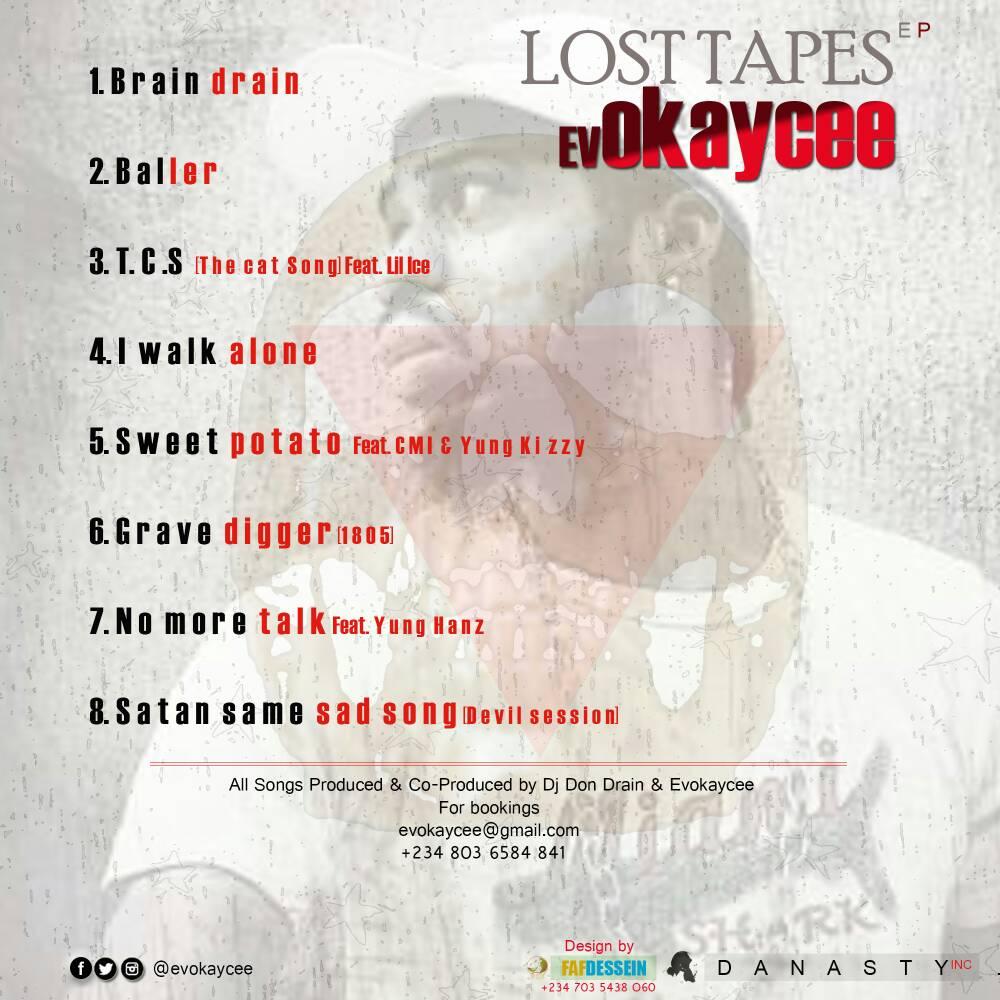 SWAGG NEWS AFRICA: Fresh EP Album:- Evokaycee Drops his EP titled