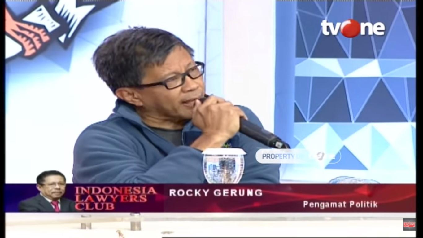 Rocky Gerung: Karni Ilyas Bisa Dijerat UU ITE Jika Ada Penilaian Seperti InI