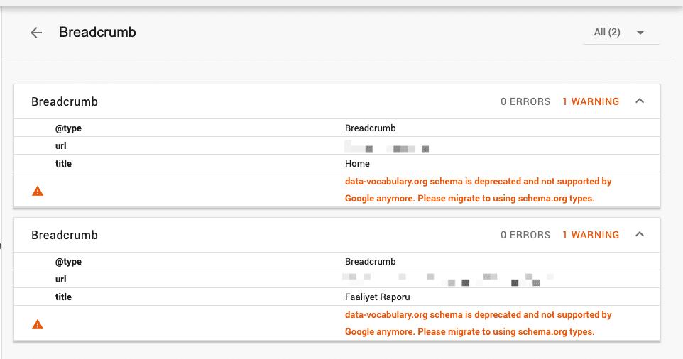 "How To Fix ""data-vocabulary.org schema deprecated"" Error In Blogger"